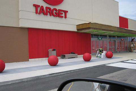 Target-exterior